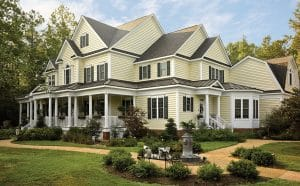 Large Home Roofing, siding, doors, windows